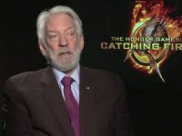 Catching Fire Star Donald Sutherland opening up in Recent 4-Minute Interview