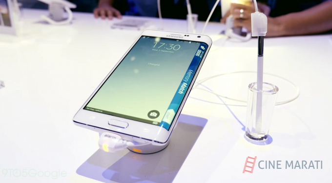 Samsung Galaxy Note Edge: A Perfect Display Smartphone
