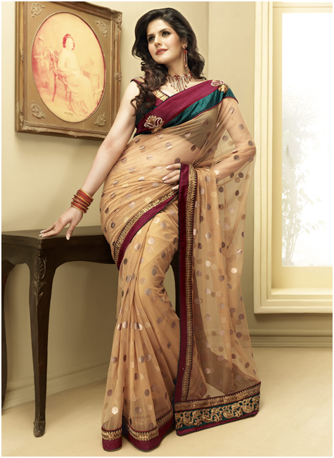 The Elegance Of A Sari