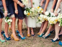 One Wedding, So Many Shoes