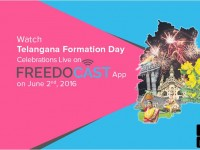Join The Telangana Formation Day Celebrations Through Freedocast