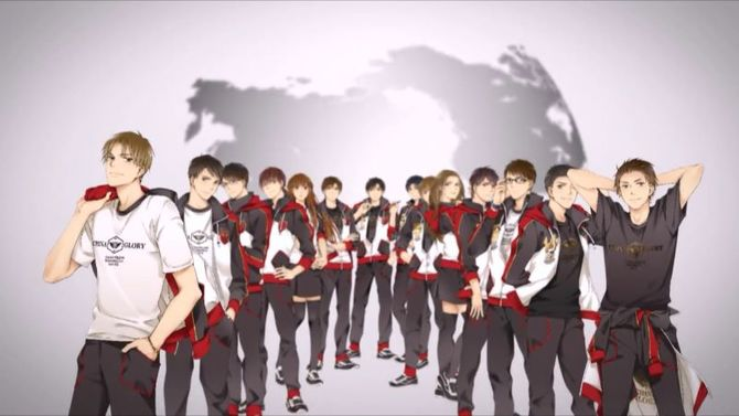 The eSports Anime: Kings Avatar